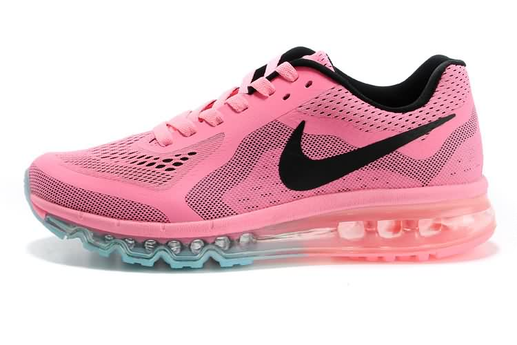 High-Class Cheap Nike Air Max 2014 Women Running Shoes Pink Black